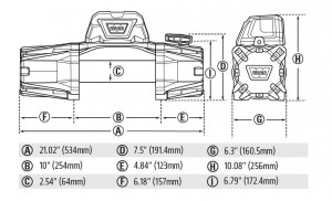 EVO10 Dimensions